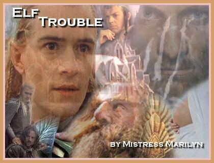'Elf Trouble' banner