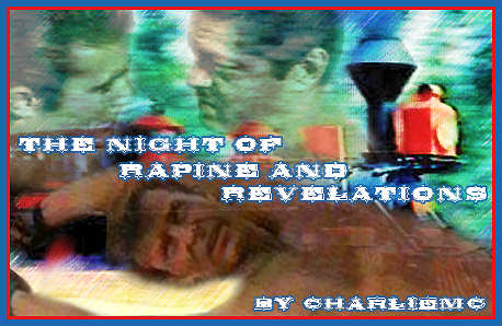 'The Night of Rapine and Revelations' banner