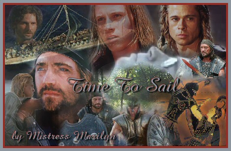 'Time to Sail' banner